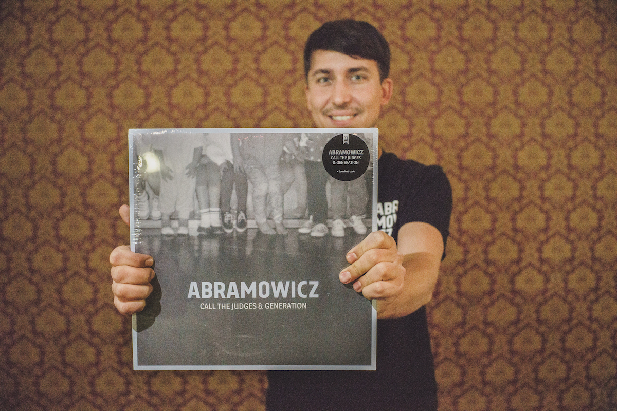 Abramowicz CALL THE JUDGES & GENERATION DOPPEL EP LP